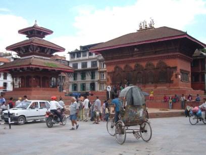 Rickshaw in Darbar Square Kathmandu Nepal