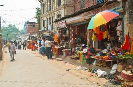 Local Market in Kathmandu Nepal