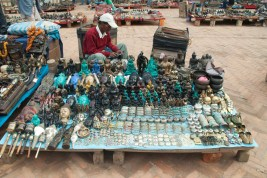 Market outside Darbar sequare Kathmandu