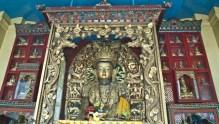 Buddha statue at Swyambhunath Temple Kathmandu Nepal