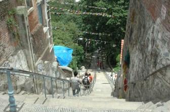 Swyambhunath Temple stairs