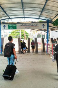 Thai Immigration entry