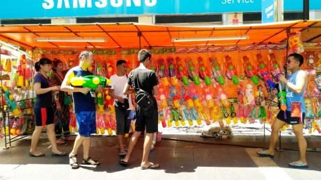Water guns for Songkran