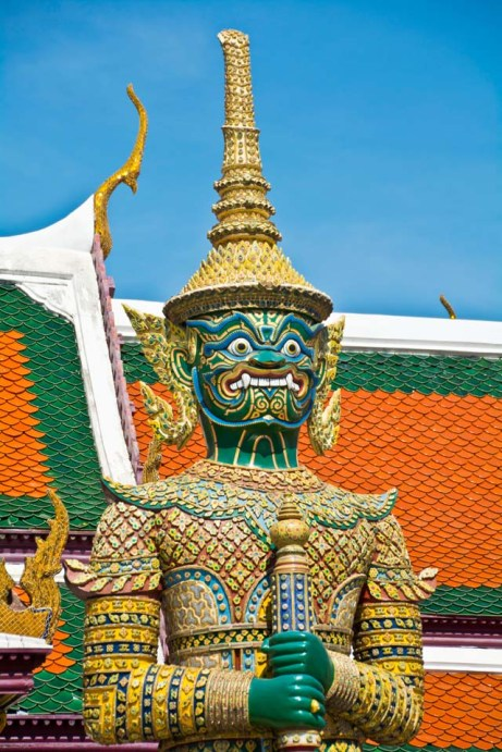 Statue inside Royal palace Bangkok