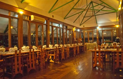 Dining area in Waterscapes KTDC Backwater Resort