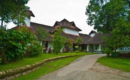 Bolgatty Palace and Island Resort Walking area