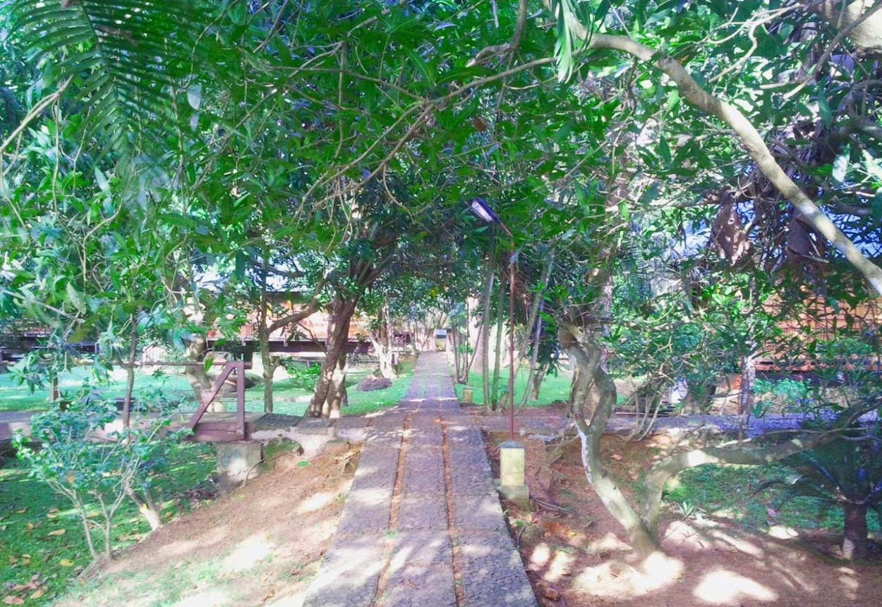Walking area in Waterscapes KTDC Backwater Resort
