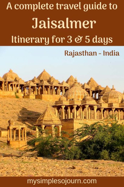 Places to visit in Jaisalmer, Rajathan