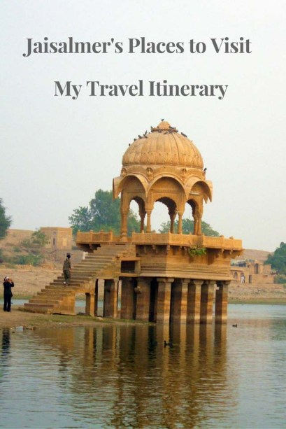 Jaisalmer's Places to Visit