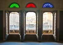 Shekhawati region of Rajasthan - Nawalgarh Haveli window