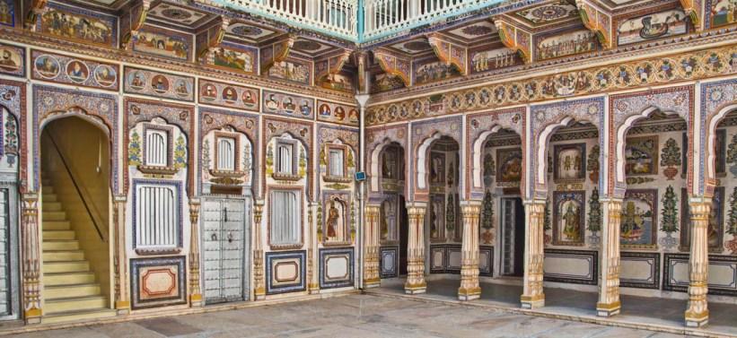 Shekhawati region of Rajasthan - Nawalgarh Poddar haveli