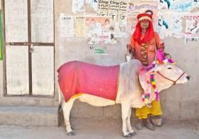 Pushkar market artist