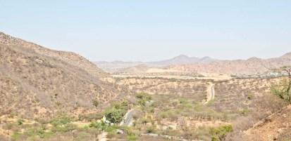 Ajmer and Pushkar road