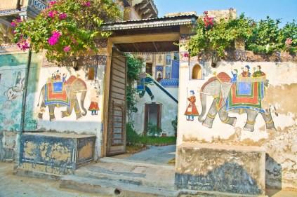 Ramgarh Fresco Main Gate