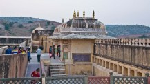 Amer fort jaipur courtyard