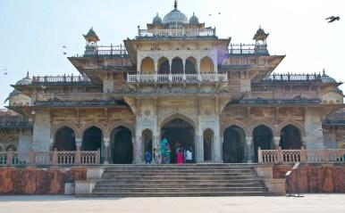Albert hall museum Jaipur outside