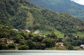 Hills near Phewa Lake Pokara Nepal