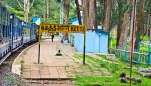 Ketti station on the way from Ooty to Metupalaiyam