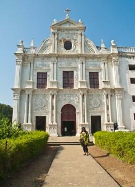 St Paul Church Diu front