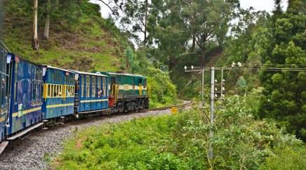 Nilgiri Mountain Railway from Ooty to Metupalaiyam