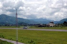 Pokhara Airport plane