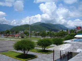 Pokhara airport view