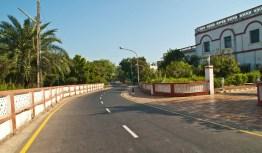 Road in Diu island