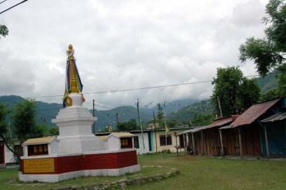 Stupa at Tibetan camp in Pokhara