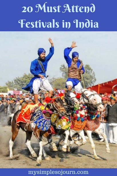 20 Must Attend Festivals in India