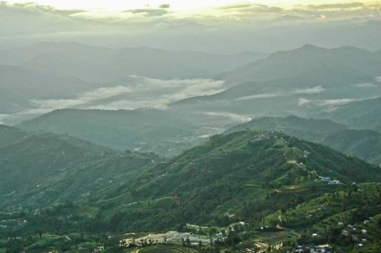 Nagarkot hills sunrise