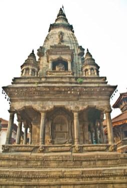 Bhaktapur Durbar Square area temple