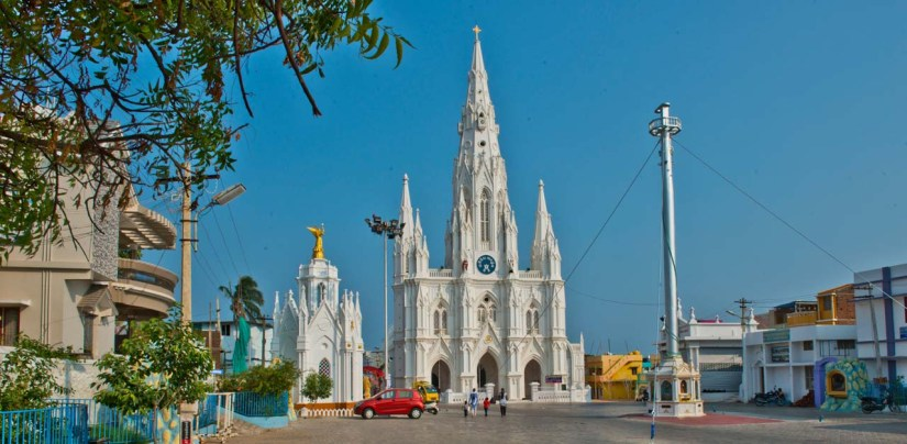 Our Lady of Ransom Church in Kanyakumari