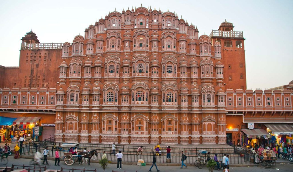 Pictures from India - Hawa Mahal Jaipur