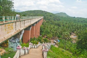 Mathur Hanging bridge Kanyakumari