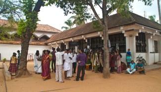 Padmanabhapuram Palace shoe locker