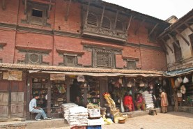 Patan Durbar Square Lalitpur Nepal shops
