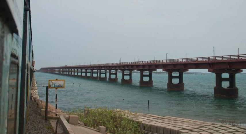 Annai Indira Gandhi Road Bridge Rameshwaram