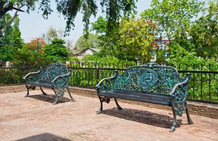 The residency Lucknow benches
