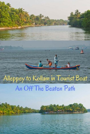 Alleppey to Kollam in Tourist Boat - An Off The Beaten Path in Kerala Backwaters