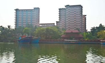 Amritapuri Ashram in the Kerala Backwaters