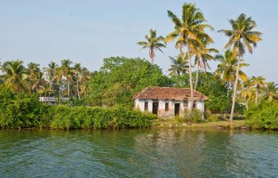 House in the Kerala Backwaters