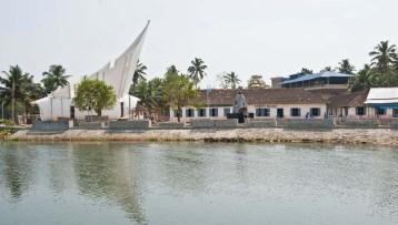 Memorial in Kerala Backwaters