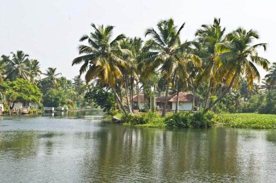Villages around Kerala Backwaters