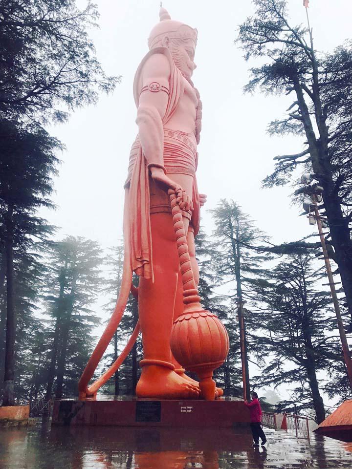Hanuman Statue at Jakhoo temple shimla