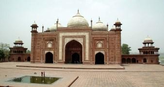 Mosque in Taj Mahal Compound