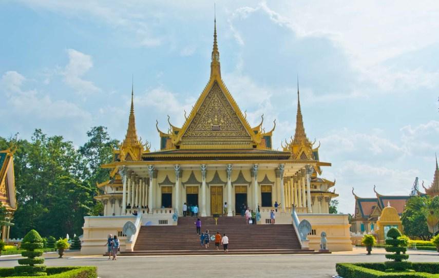 Throne Hall Royal Palace Phnom Penh