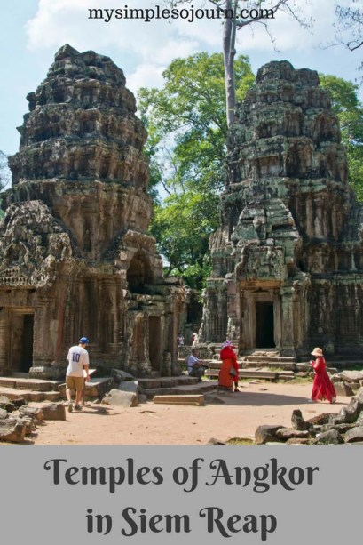 Temples of Siem Reap in Angkor Archeological Park, Cambodia