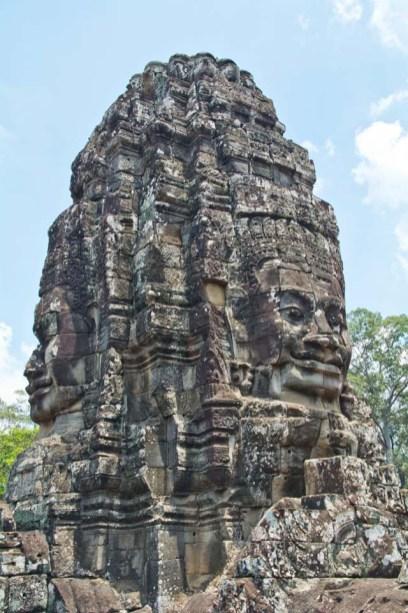 Faces of Bayon temple, Siem Reap