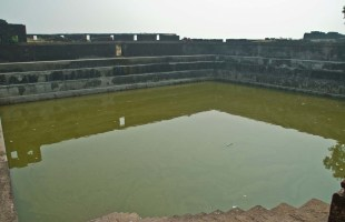 Fresh water pond Inside Kolaba Fort in Alibaug
