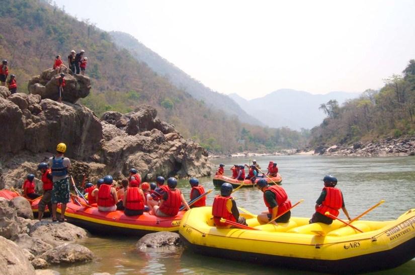 River Rafting in Ganga River